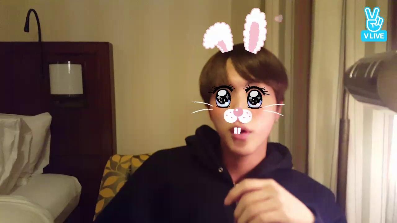 BTS Live : Eat Jin + chimchim