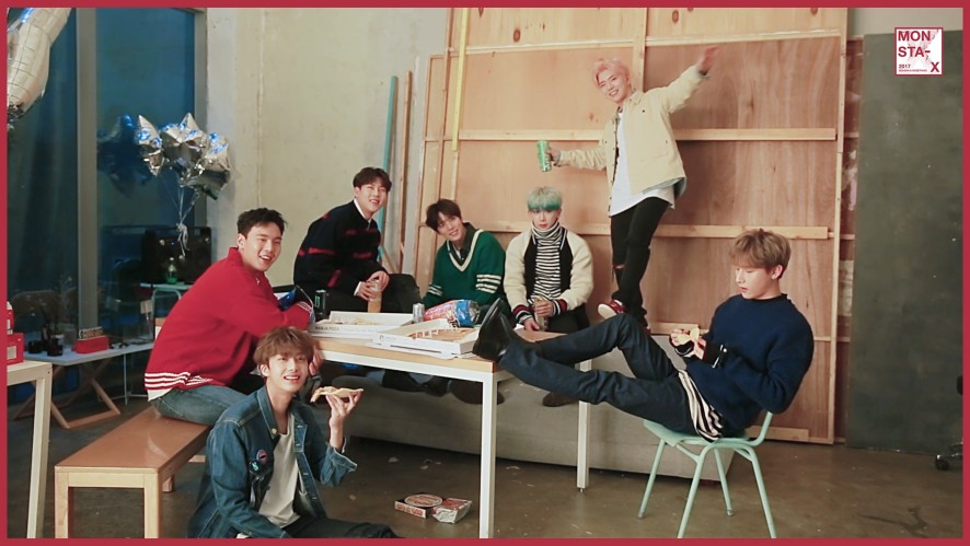 [Preview] 몬스타엑스(MONSTA X)_2017 SEASON'S GREETINGS DVD