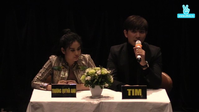 Trương Quỳnh Anh & Tim M/V show case