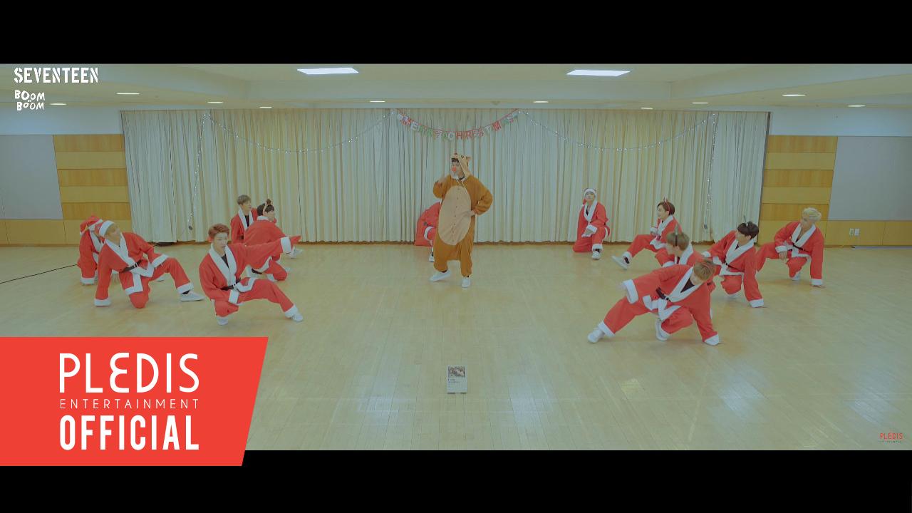[SPECIAL VIDEO] SEVENTEEN(세븐틴)-붐붐(BOOMBOOM) - SANTA Ver.