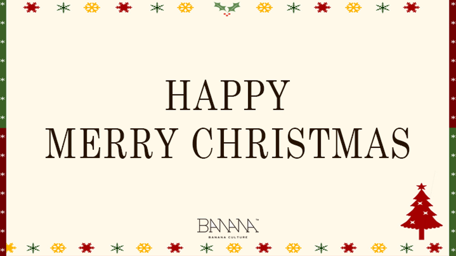 [바나나컬쳐엔터테인먼트(BANANCULTURE ENT)] Happy Merry Christmas~♡