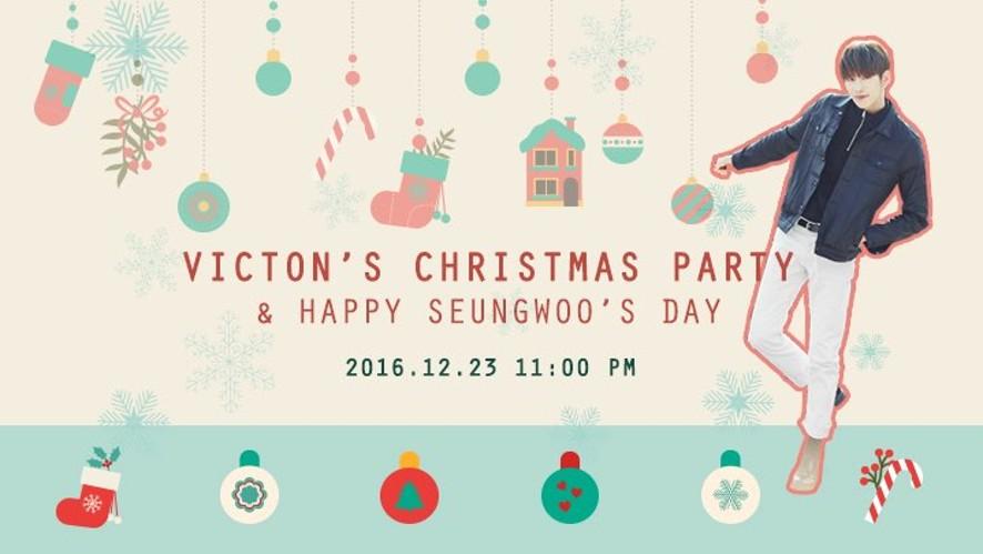 [알방라이브] VICTON 빅톤 크리스마스 파티 & 승우의 생일!!