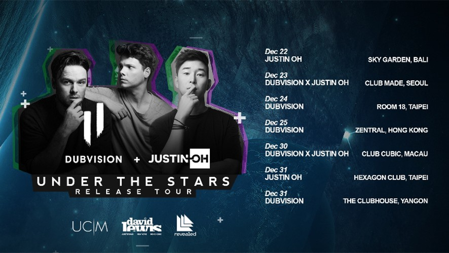 Dubvision x Justin Oh - Under The Stars Release Tour Introduction