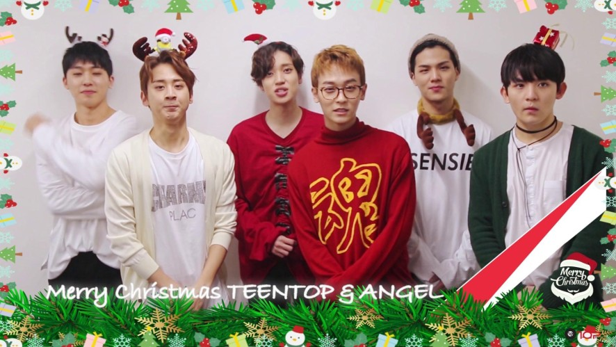 TEEN TOP(틴탑) - ☆Merry Christmas&Happy New Year★