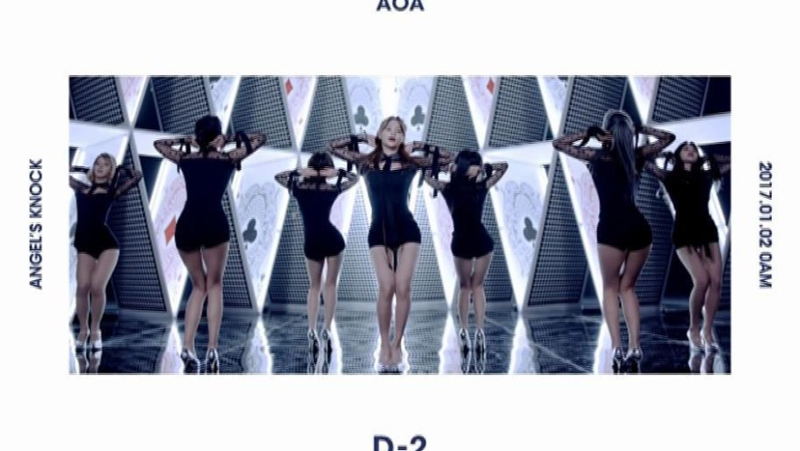 AOA 1st Album「Angel's Knock」[D-2] MOTION POSTER