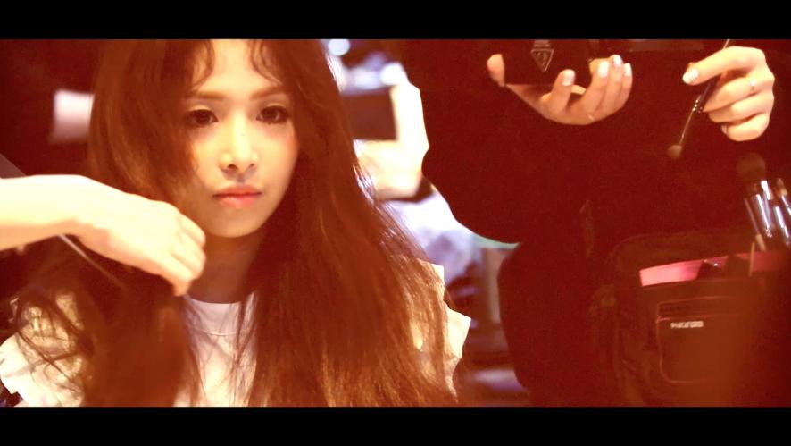 """APRIL - """"April Story"""" Chaewon MV making spoiler"""