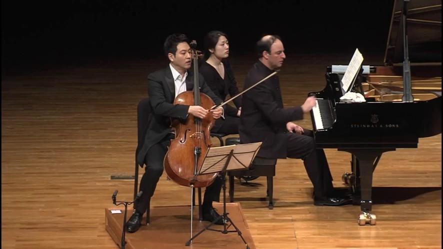 첼리스트 송영훈(Young Song) - Schumann Fantasiestucke, Op.73