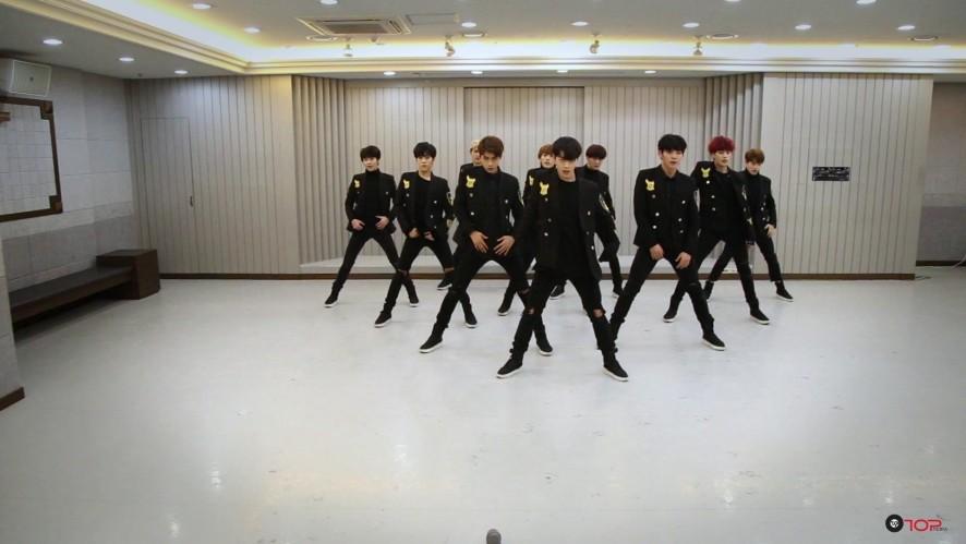 [Dance Practice] 업텐션_하얗게 불태웠어 Orchestra ver.