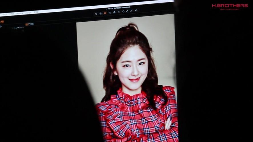 [박혜수] 내성적인 보스 포스터 촬영 현장 밀착캠!
