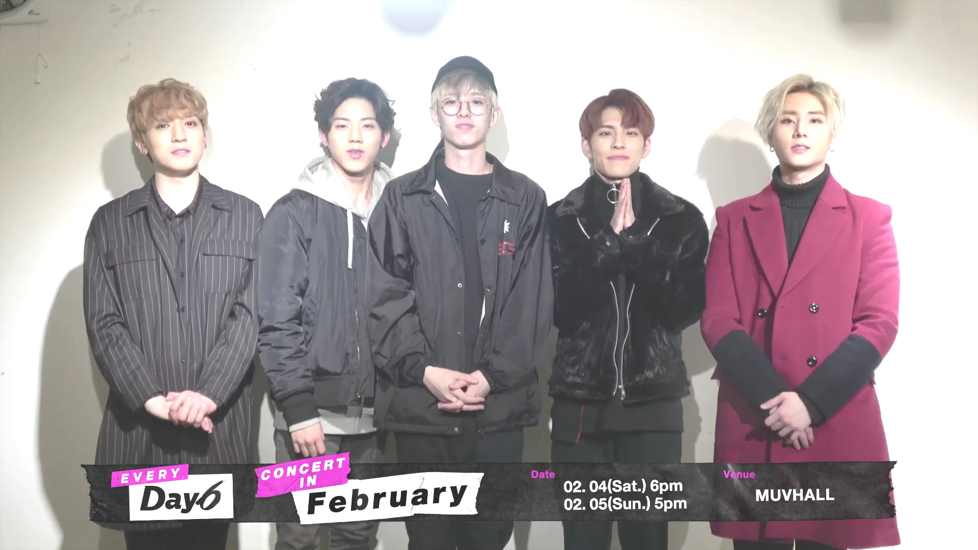 DAY6 <Every Day6 Concert in February> Invitation Video