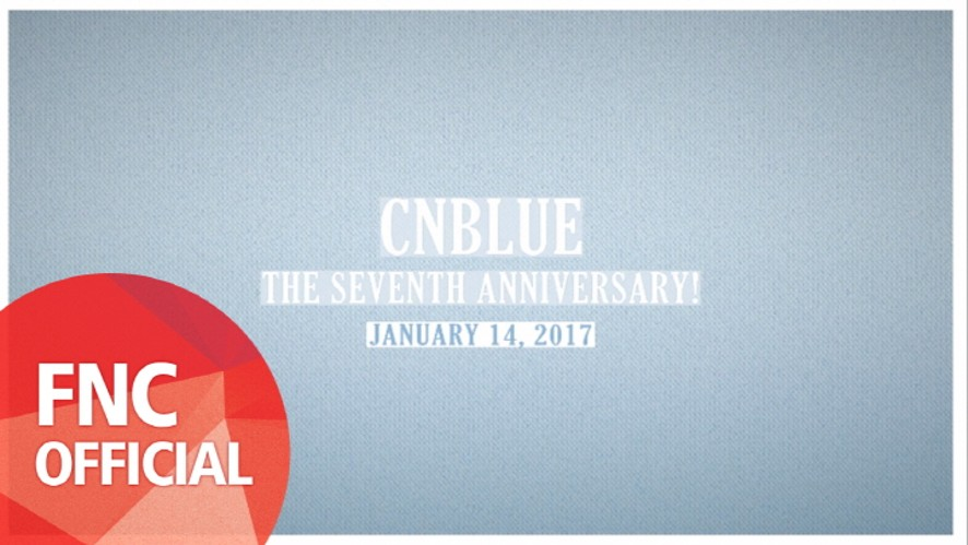[CNBLUE 7th Anniversary Message] Thanks BOICE - From. CNBLUE