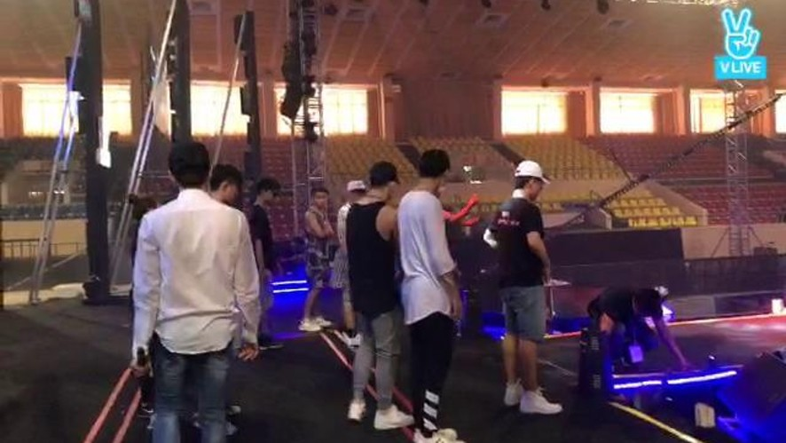 Rehearsal Year End Party V Live 2017/01/17