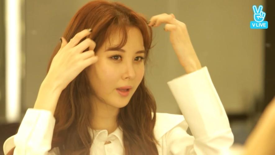 [SEOHYUN] 서현이의 앞머리 복구하기( •̀ᄇ• ́)ﻭ✧(SEOHYUN doing her hair)