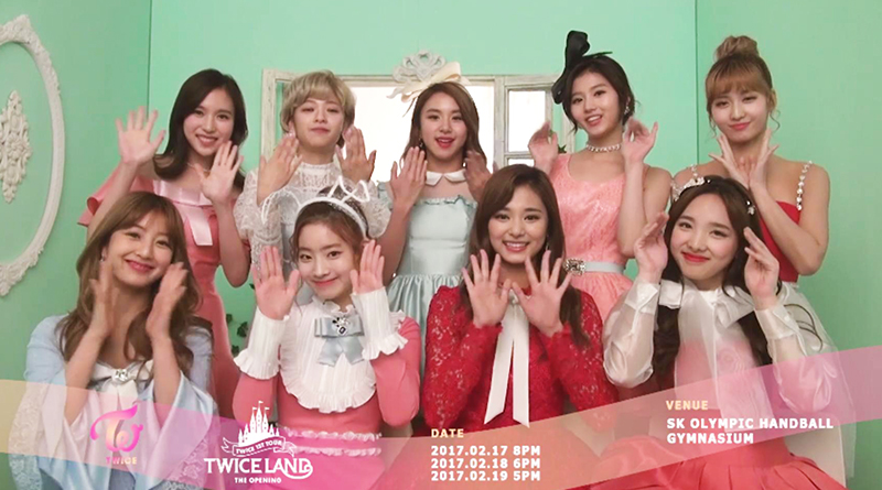 TWICELAND INVITATION