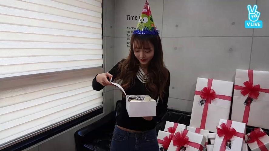 ☆김소희☆ 퀵소희의 생일을 축하해주셔서 감사합니다♡