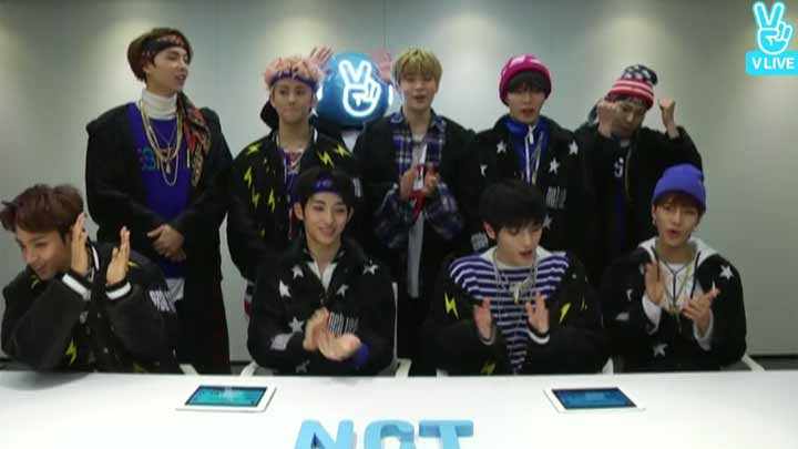 2017 GLOBAL V LIVE TOP10 - NCT127