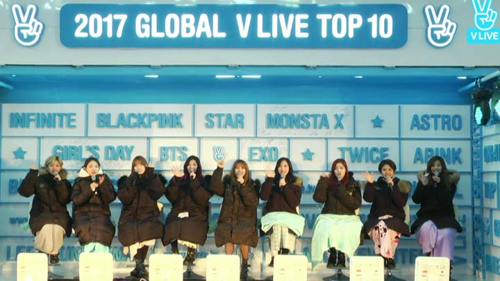 [Replay] 2017 GLOBAL V LIVE TOP10 - TWICE