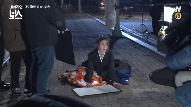 [단독]영하 10도 맨발로 거리에 나간 박혜수 고군분투 촬영 비하인드