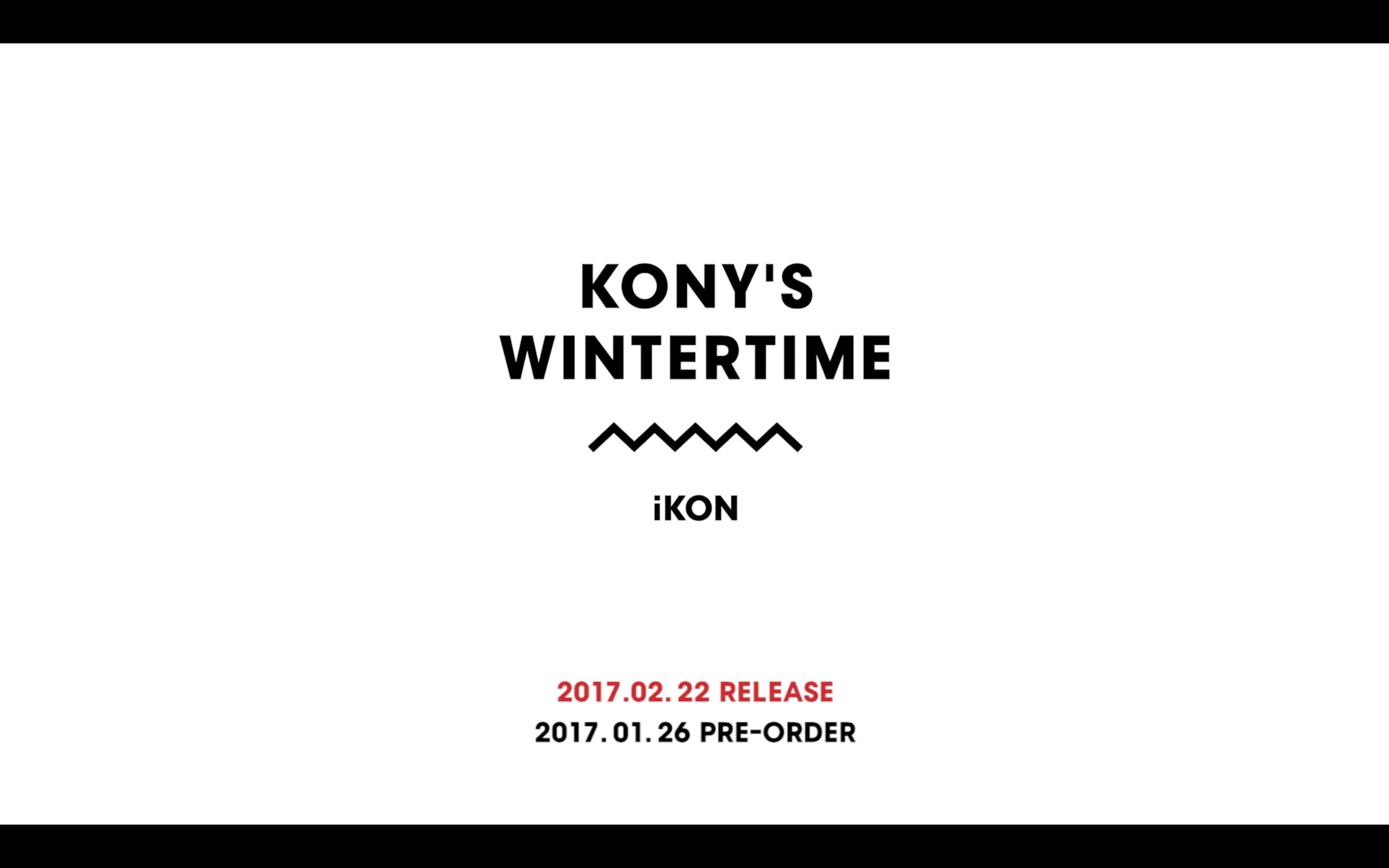 iKON | KONY'S WINTERTIME [LIMITED EDITION]