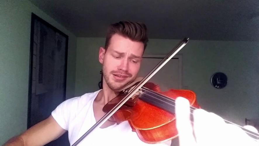 바이올리니스트 필립 포가디(Filip Pogady)의 까치 까치 설날은♪