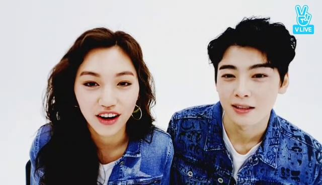 은우 도연 화보촬영ing🤗 (Cha Eun Woo & Kim Do Yeon's pictorial shooting)