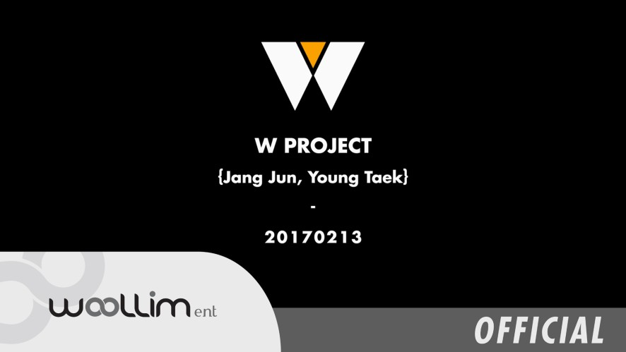 W PROJECT #2 LOGO TEASER {Jang Jun, Young Taek}