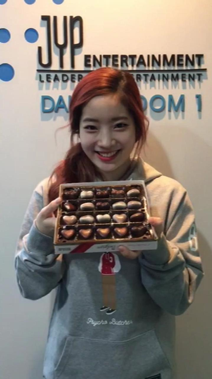 Valentine Day Message from DAHYUN