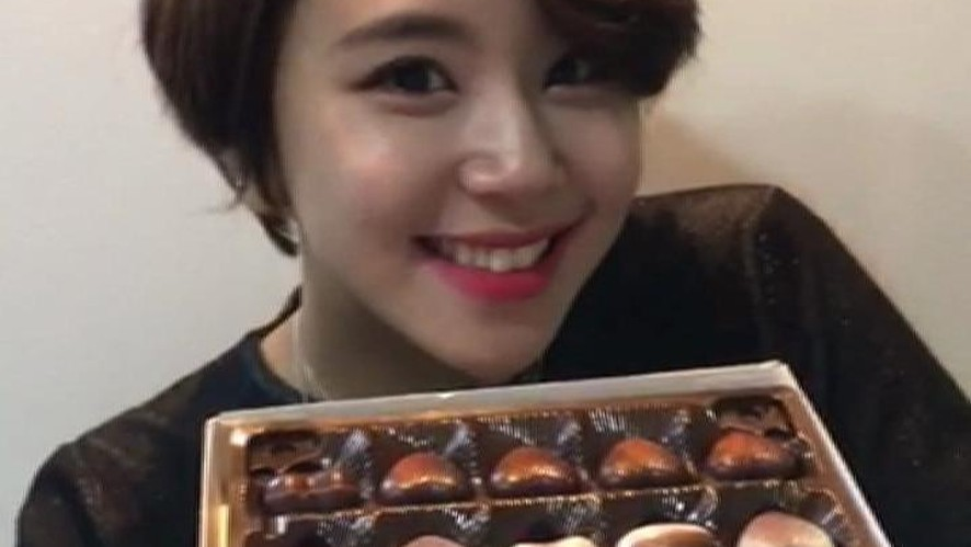 Valentine Day Message from CHAEYOUNG