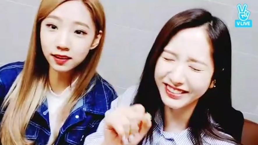 [WJSN] 좌심방우심방 허락 받고 들어온 여보~💖  (Super-Cute Bona&Yeoreum)