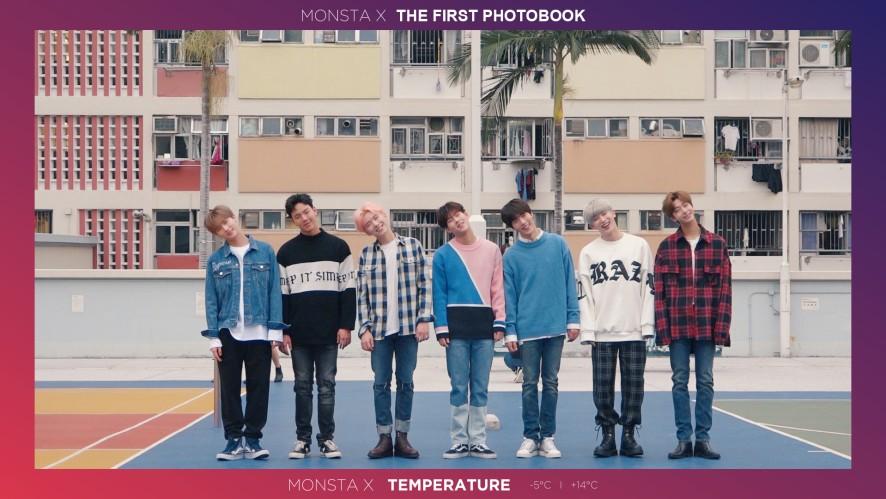 [Teaser] 몬스타엑스(MONSTA X) - 1st PHOTOBOOK 'MONSTA X TEMPERATURE'