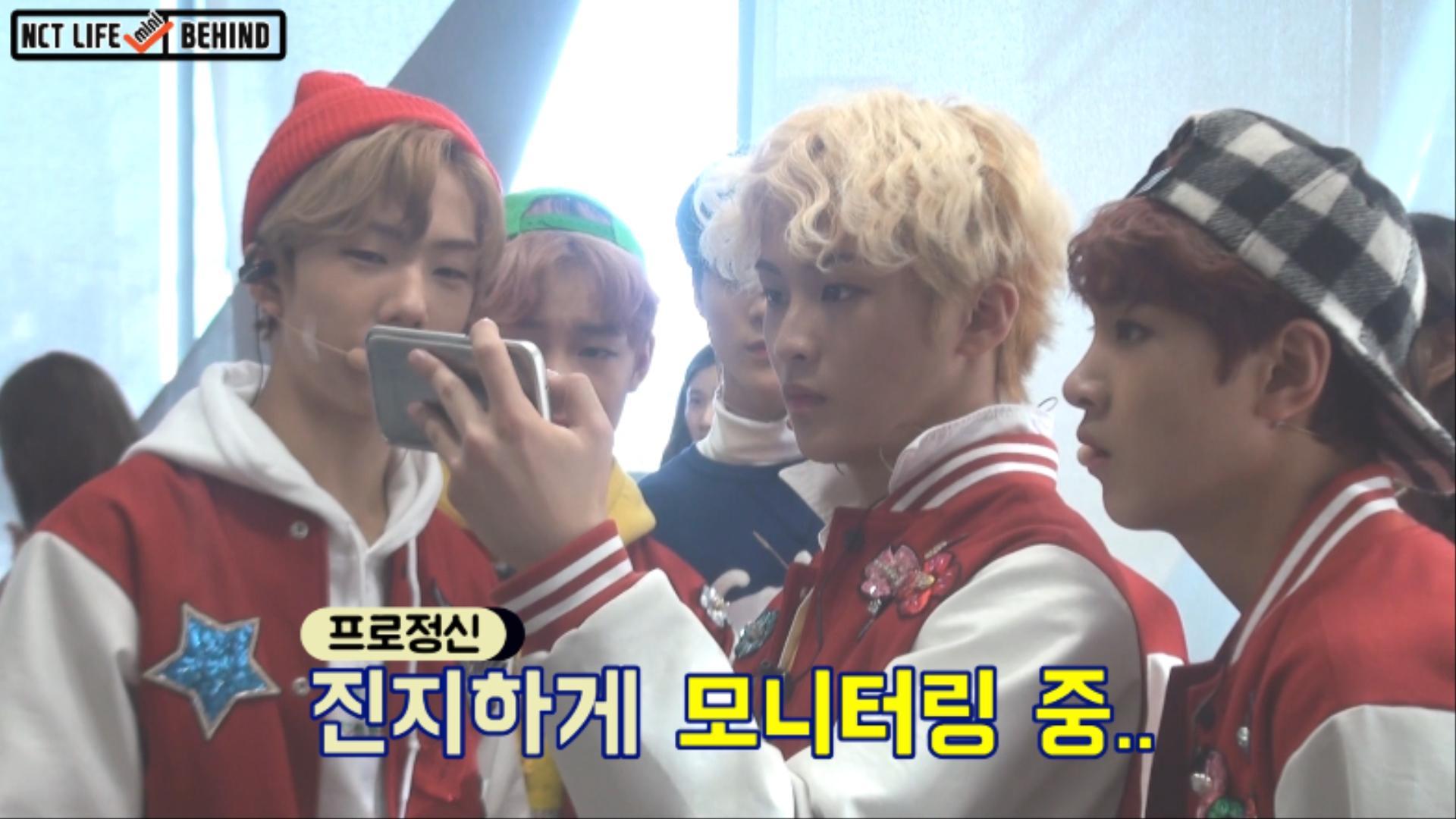 [NCT LIFE MINI] BEHIND_음악중심 대기실