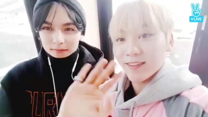 [SEVENTEEN] 투닥투닥 구팔즈의 빠른답변❔❕💨 (Vernon&SeungKwan's Quick Q&A)