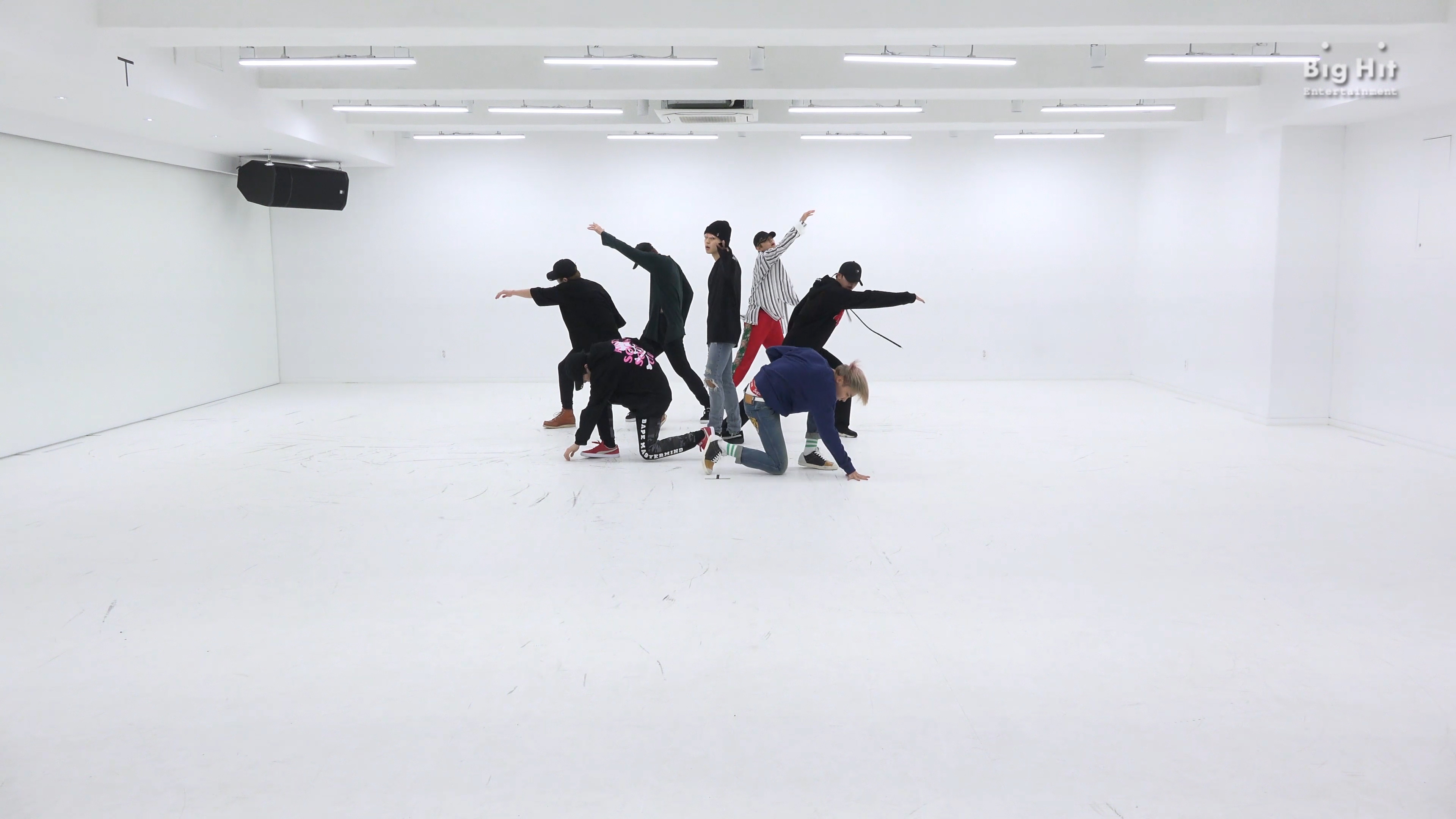 BTS '봄날 (Spring Day)' Dance Practice