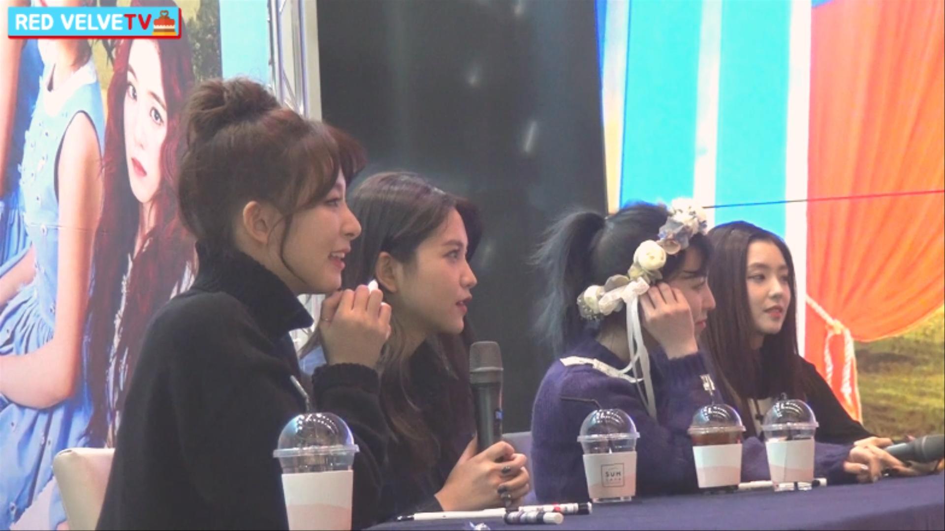 [Red VelveTV] 레드벨벳 'Rookie' 발매 기념 사인회 현장 2