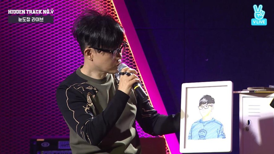 [HIGHLIGHT] 임헌일이 그린 이승환 (Special Gift for LeeSeungHwan)