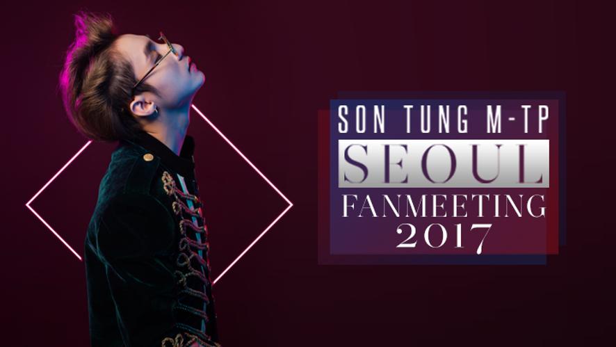SON TUNG M-TP SEOUL FANMEETING