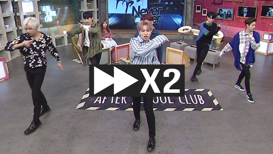 [HOT!] Never Ever 질리지 않을 GOT7의 2배속 댄스