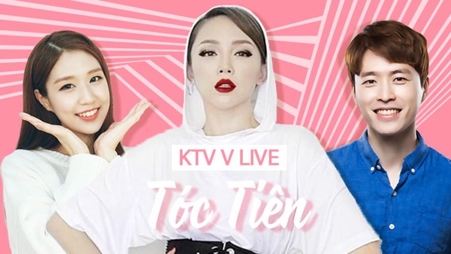 V LIVE - KTV special: Tóc Tiên đến Hàn Quốc rồi!