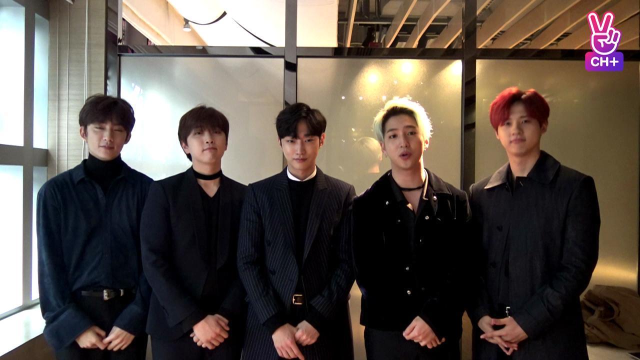 [CH+] B1A4 CHANNEL+ OPEN!!
