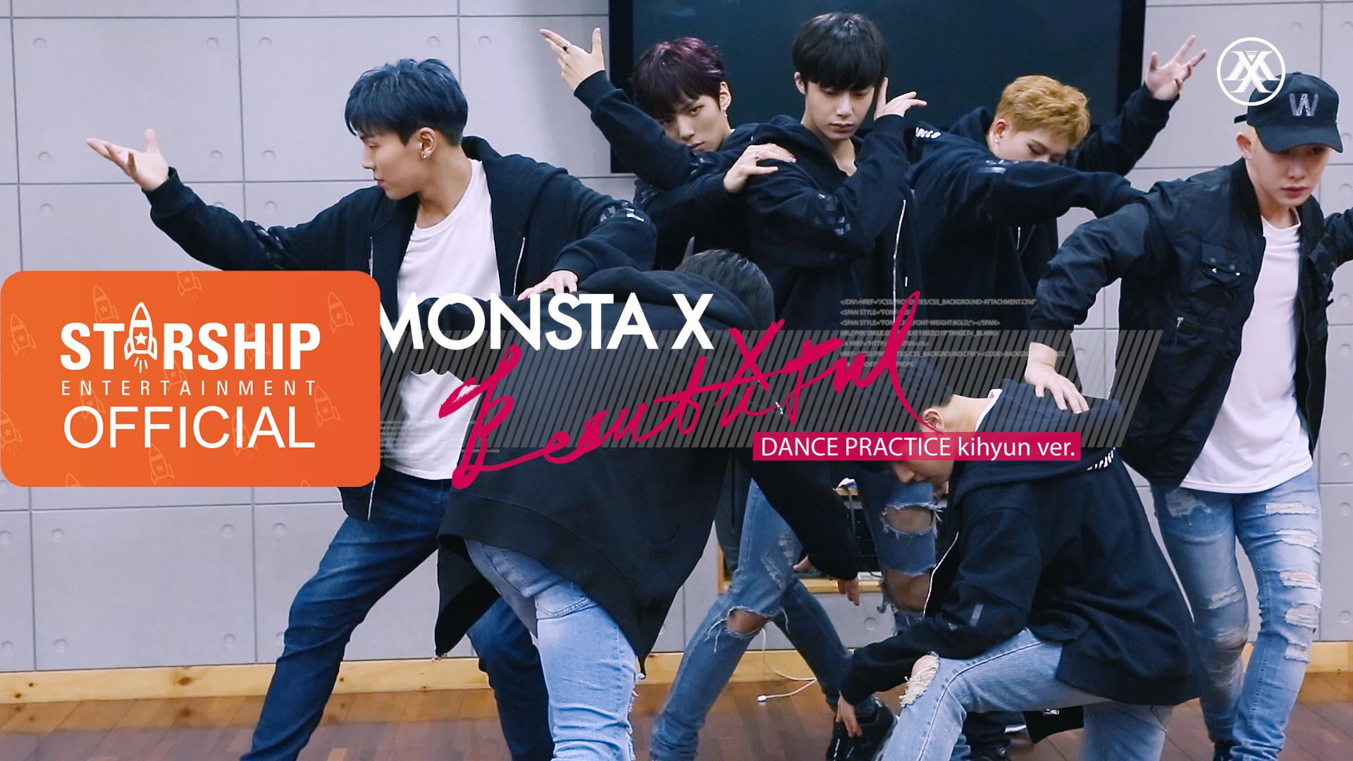 [KIHYUN][Dance Practice] 몬스타엑스 (MONSTA X) - 아름다워 (BEAUTIFUL)