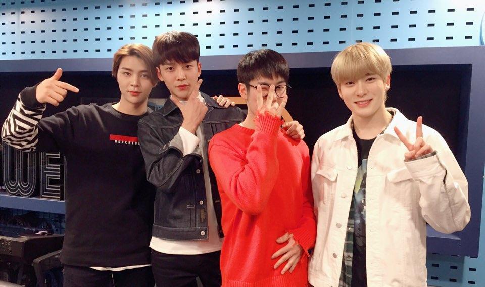 NCT X SF9 라디오 녹음 현장!