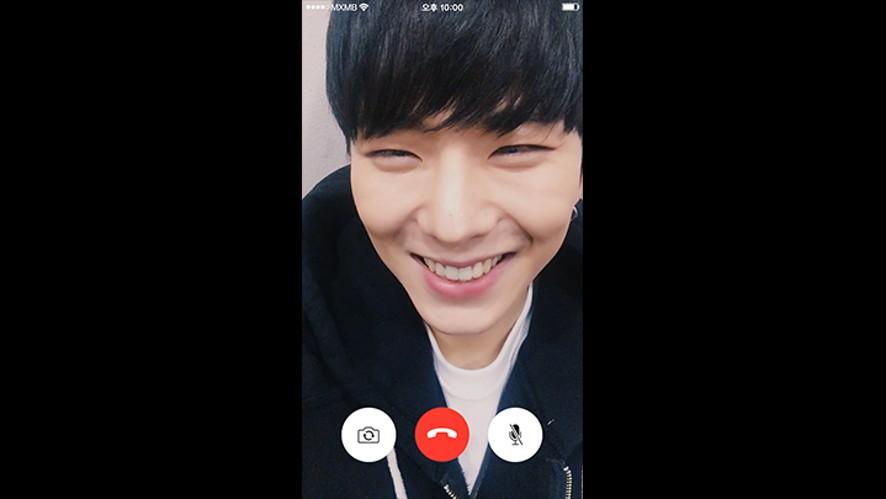 """[영상통화] 기현 - """"넌 너무 아름다워"""""""