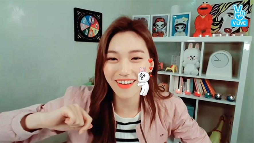 [i-Teen Girls] 도여니의 애교 3종 세트💕💕💕 (DoYeon's three cute actions!)