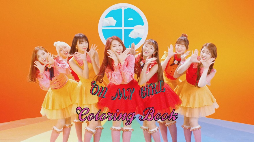 오마이걸(OH MY GIRL)_컬러링북 (Coloring Book)(MV)