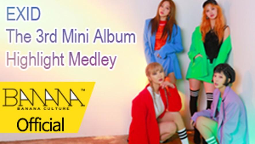 [EXID(이엑스아이디)] The 3rd Mini Album [Eclipse] Highlight Medley