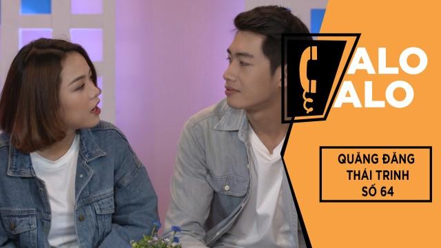 Alo Alo - Số 64 | Quang Đăng & Thái Trinh Quấn Quýt Không Rời | Gameshow Hài Hước Việt Nam