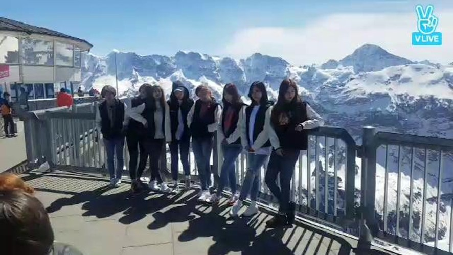 TWICE @ Schilthorn 2
