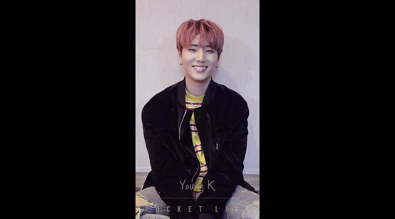 """[POCKET LIVE] DAY6(데이식스) Young K(영케이) """"장난 아닌데"""""""