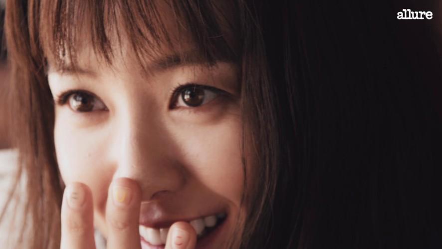 사랑스러운 정유미의 영상 인터뷰