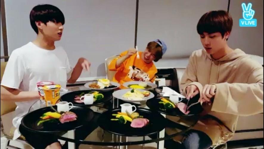 BTS Live : EAT Jin + JM&JK